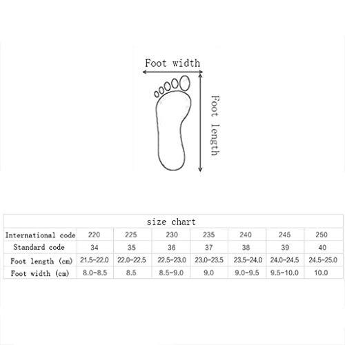 Anti A Chaussures Respirant À Hoe mesh Femmes Pour 35 A Sport Femme couleur Fond Course dérapantes De Épais Taille wFnCnvYdq