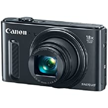 Canon PowerShot SX610 HS - Wi-Fi Enabled (Black)