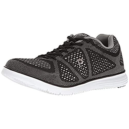 Propet Men's TravelFit Shoe Black / Grey 11 X (3E) & Oxy Cleaner Bundle