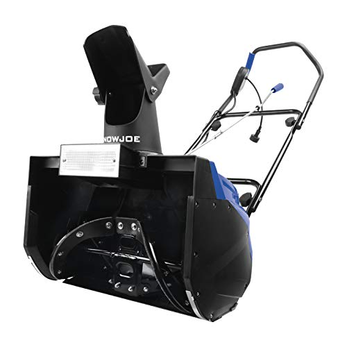 Snow Joe SJ621 Electric Single Stage Snow Thrower | 18-Inch | 13.5 Amp Motor | Headlights (Best Single Stage Snow Blower)