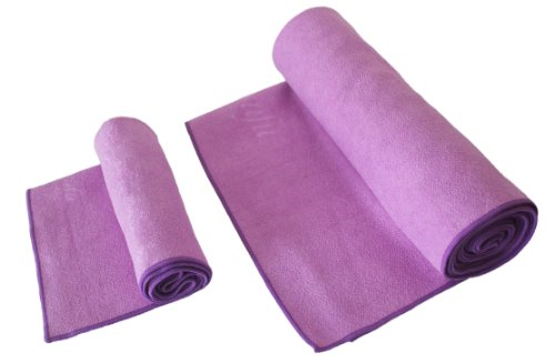 Zensufu Hot Yoga Towel Combo Set - (24