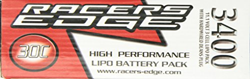 , 30C, 11.1V LiPo Battery Pack with Deans Plug (Kyo Plug)