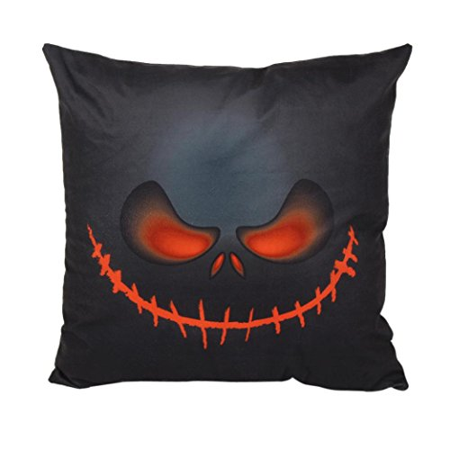 [Halloween, Charberry Festival Multicolor Sofa Bed Home Decor Pillow Case Cushion Cover (B)] (Horror Makeup Value Kit)
