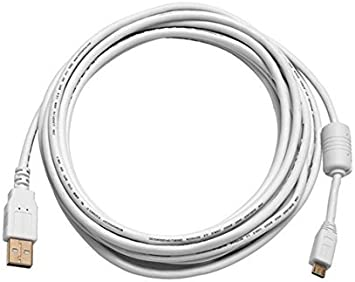 5ft USB Extension CORD 2.0 A Male to Female 28//24AWG Cable  With Ferrite Core