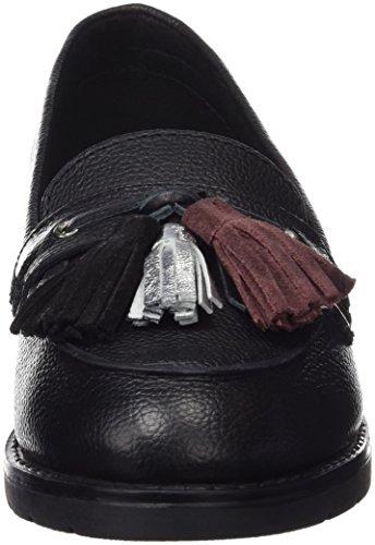Gioseppo trifoglio, Mocassins Femme Noir