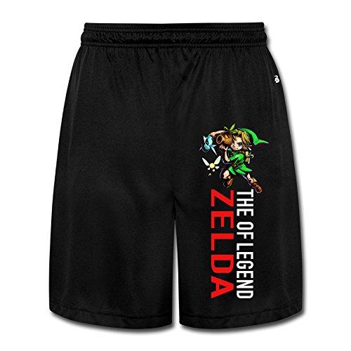 loreis Legend of Zelda Skyward Sword Link pantalones cortos para hombre pantalones de correr