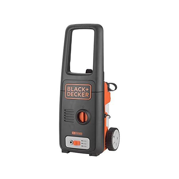 Black+Decker BXPW1400PE Idropulitrice ad Alta Pressione (1400W, 110 bar, 390 l/h) con Patio Cleaner e Spazzola Fissa, Plus 2 spesavip