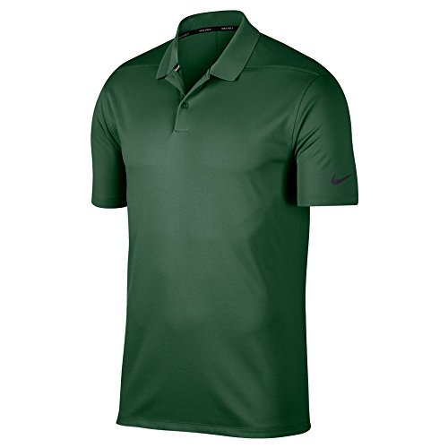 (Nike Dry Victory Solid Men's Golf Polo (Gorge Green, Large))