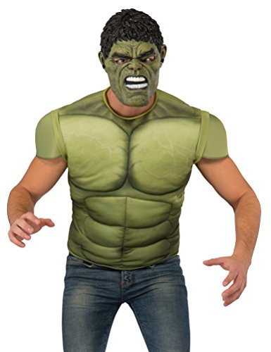 Rubie's Thor: Ragnarok, Adult Hulk Costume Top, (Hulk Costume For Adults)