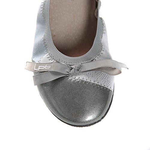 Plateado SHOES plateado plata color Bailarinas petites les LPB Acajou bombes adqR8Rw1
