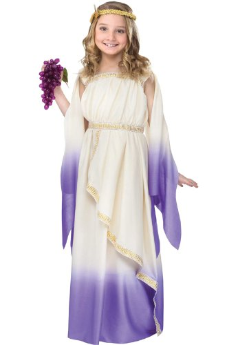 Big Girls' Purple Goddess Costume