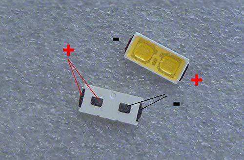 FidgetFidget BACKLIGHT SHARP LED 1W 6V 7030 COOL WHITE 50PCS/LOT