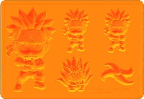NARUTO- Naruto - Shippuden silicon ice tray Uzumaki Naruto (Character (Naruto Silicone Tray)