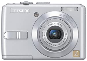 Panasonic DMC-LS75S 7.2MP Digital Camera with 3x Optical Image Stabilized Zoom