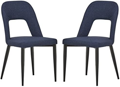 Amazon Com Rivet Florence Mid Century Modern Set Of 2 Wide Open