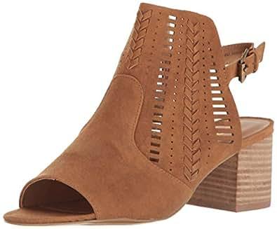 Report Women's Hanelli Ankle Bootie, Tan, 6 M US