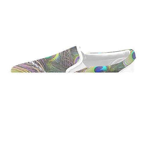 Unik Debora Tilpasset Mote Kvinners Joggesko Uvanlige Loafers Slip-on Canvas Sko Multicoloured2