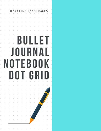 Bullet Journal Notebook Dot Grid: Cheap Composition Journals Books College Ruled To Write In Letter Paper Size 8.5 X 11 Volume 11