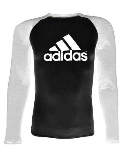 adidas Competition Rash Guard (Black, Large)