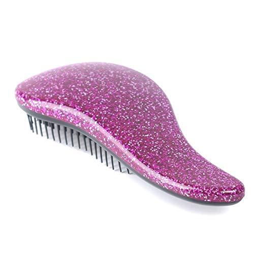 Shoppy Star:Manejar brillo enredo Detangling peine Ducha Herramienta Tamer Styling Salon del cepillo de pelo cepillo...