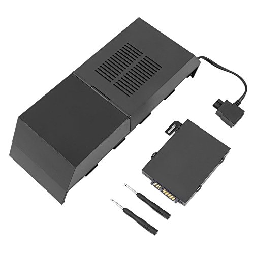 PS4 HDD Extender Data Bank USB 3.5 to SATA External Hard Drive Lay-Flat Docking Station for 2.5 or 3.5in HDD, SSD by JiiJian