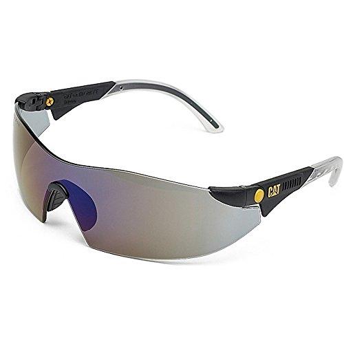 Mens Safety Smoke Glasses Workwear Brown Caterpillar Protective Dozer 4IwxZqdHd