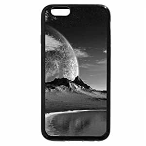 iPhone 6S Case, iPhone 6 Case (Black & White) - We Are Not Alone