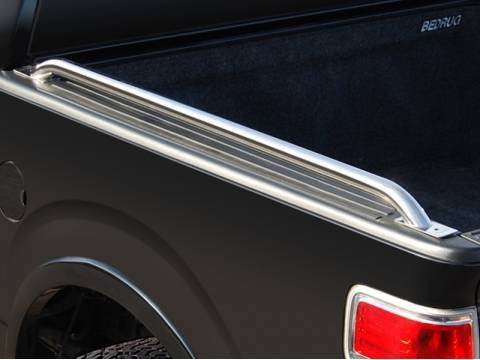 BETTER AUTOMOTIVE Custom Fit 2015-2016 Chevy Colorado/GMC Canyon 6ft (72 inch) Bed / 1992-2011 Ford Ranger 6ft (72 inch) Bed / 2000-2006 Toyota Tundra Short Bed Truck Side Bed Rails Stainless Steel