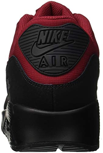 Chaussures homme Crush de 90 001 Black Max NIKE Multicolore Air running Red Essential wPXnI0