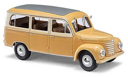 Busch 51252 Framo V901/2 Bus Yellow HO Scale Model Vehicle