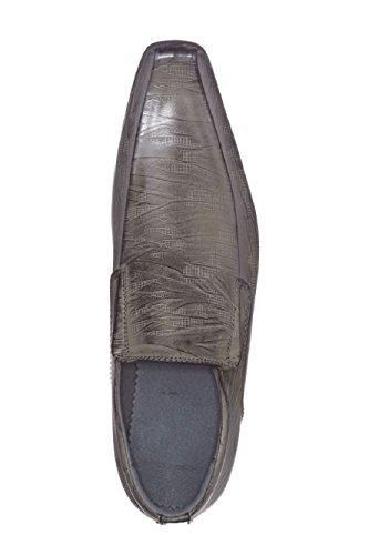 Mocassins tendance avec style brossé Gris Findlay
