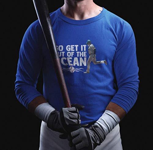 Go Get It Out Of The Ocean Funny Shirt Baseball Jersey Max-Muncy Los Angeles Customized Handmade T-Shirt Hoodie/Long Sleeve/Tank Top/Sweatshirt
