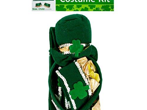 Bulk Buys Leprechaun Costume Accessories Kit - 12 Pack