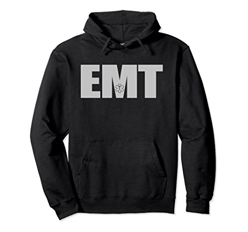 Emt Clothing (Unisex Emergency Medical Technician EMT Hoodie Small Black)