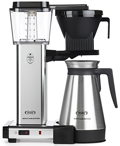 Technivorm Drip Coffee Maker - Technivorm Moccamaster 79312 Kbgt Polished Silver