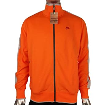 f86ba0da60 Nike Mens Retro Orange N98 Vintage Track Suit Top Sports Jacket S M L XL XXL