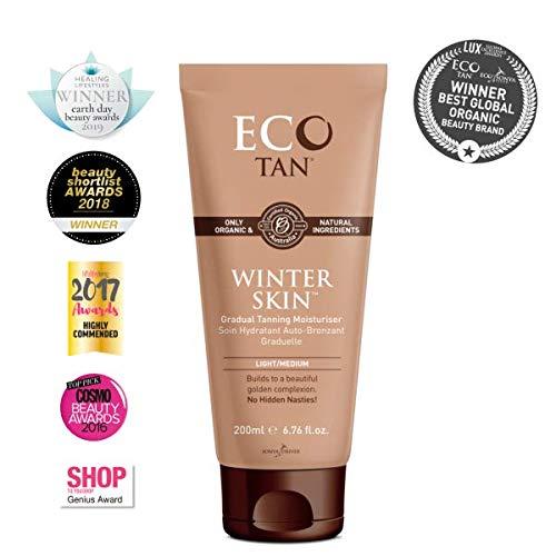 E-Cotan ECO Tan Organic Winter Skin Gradual Tanner Plus Moisturizer, 7.04 Fluid Ounce