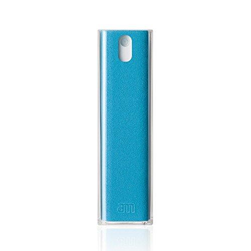 Compact Screen (Microfiber Screen Cleaner Mist For Phones, Laptops & Desktops - Portable & Compact (Blue))