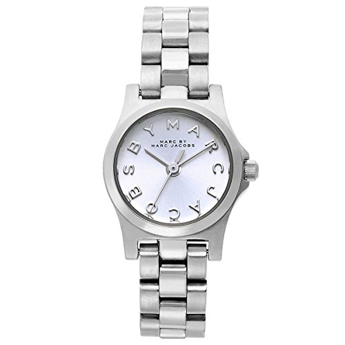 Marc by Marc Jacobs Silver Dial Stainless Steel Quartz Ladies Watch MBM3198