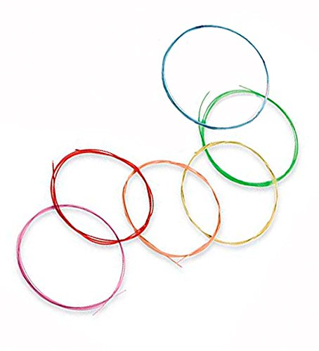Rainbow Colours Guitar Strings Replacement Set by RAINBOW COLOURS