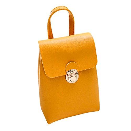 Shoulder Bag for Women Pure Color Messenger Satchel Tote Crossbody Phone Bag