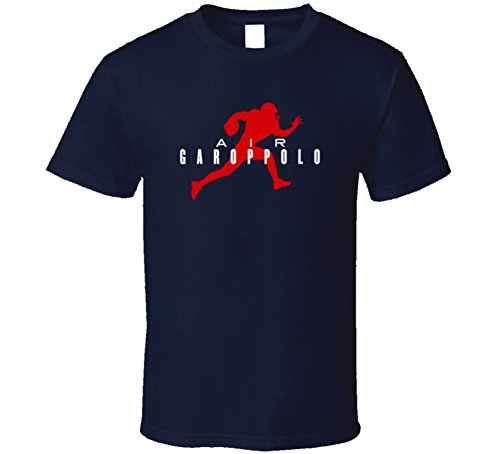 Tshirtshark Air Jimmy Garoppolo New England Football Player Fan Parody T Shirt Xl Navy