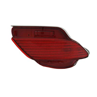 TYC 17-5276-00 Lexus RX350 Replacement Rear Driver Side Reflex Reflector: Automotive