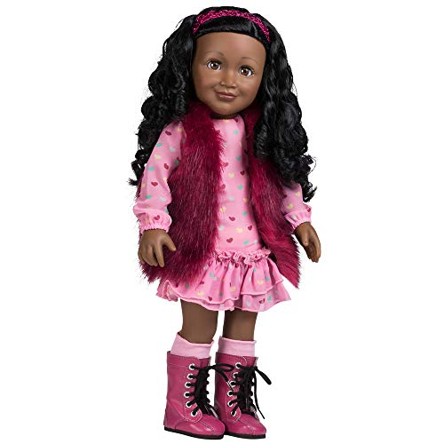 (Adora Amazing Girls 18-inch Doll, ''Furry & Fabulous Jada'' (Amazon Exclusive))