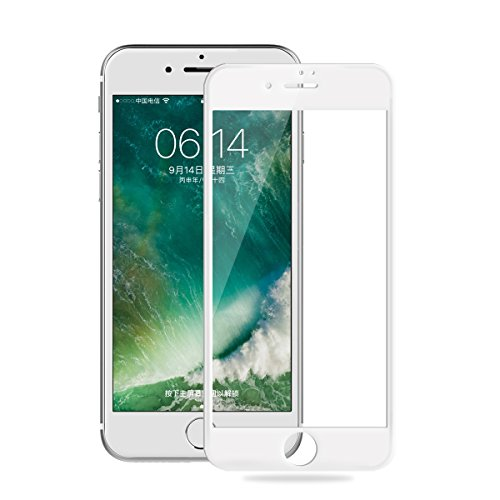 iPhone Protector Tempered Anti Fingerprint 8%EF%BC%88White%EF%BC%89 product image