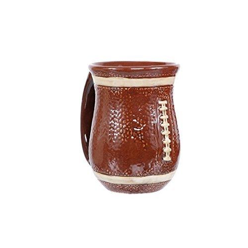 DEI 30136 Ceramic Mug, 4.5 x 4.5 x 5.0, Brown