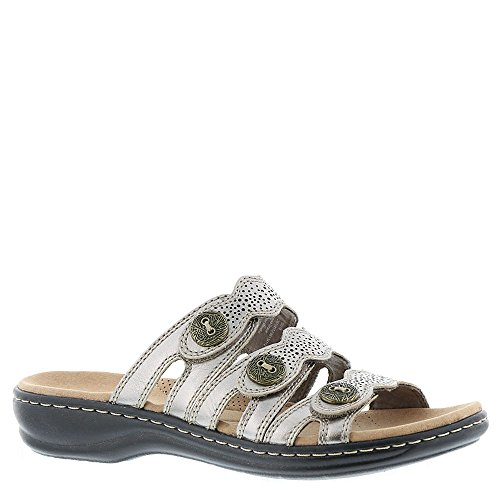 Women's C Us Clarks 5 Leather 8 Grace Pewter Leisa CwqwdfU
