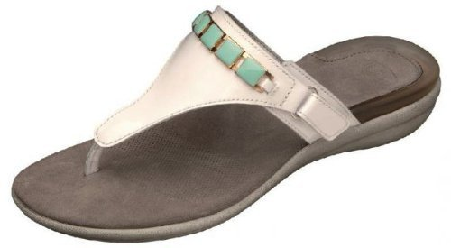 Scholl taglia 36bianco/verde Gelactiv Hollis sandali da donna