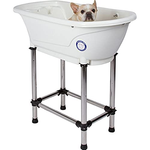 Grooming tubs amazon flying pig pet dog cat washing shower grooming portable bath tub white 3725x1925x3525 solutioingenieria Gallery