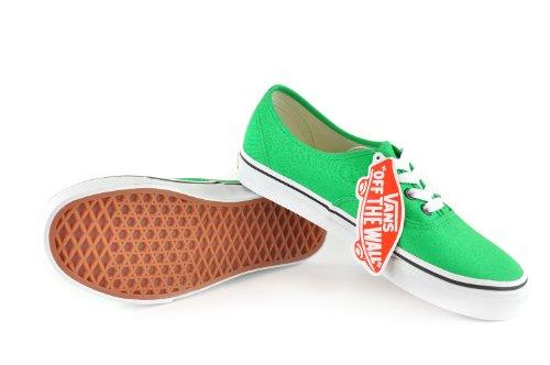 Vans Authentic, Zapatillas de Estar por Casa para Hombre Verde Claro